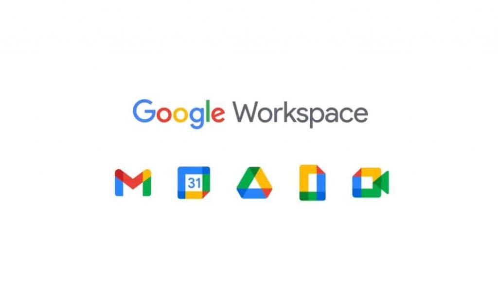 Google workspace new logos