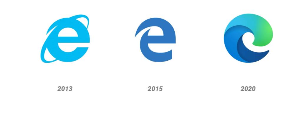 Microsoft Edge Logo Revamping